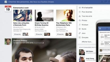 Facebook et son nouveau fil d'actu : ce que le webdesign doit au ... - Le Nouvel Observateur   Actualités TIC   Scoop.it