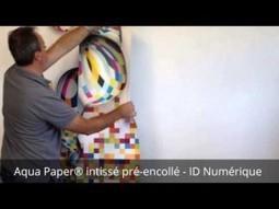 Aqua Paper® - impression de Papier peint intissé pré-encollé | GraphiCONSEIL | Scoop.it