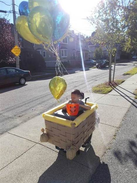 Fall in love with 10 amazing wheelchair Halloween costumes | More items of interest | Scoop.it