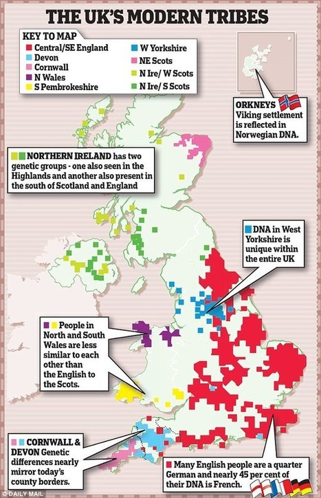 The Welsh may be the truest Britons according to new genetic research   Society and behaviour   Scoop.it