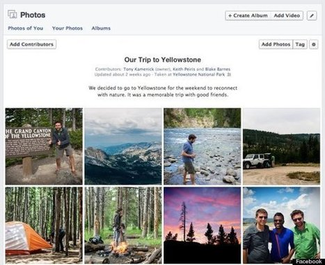 Facebook Introduces Shared Photo Albums | Social Media Terrain | Social  Media | Scoop.it