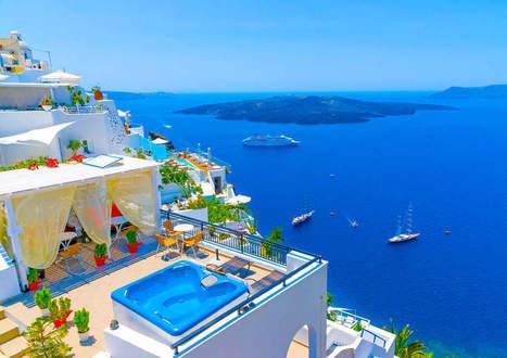 Photo de la semaine : Santorini - Eurotel Group | Voyages | Eurotel Group | Scoop.it