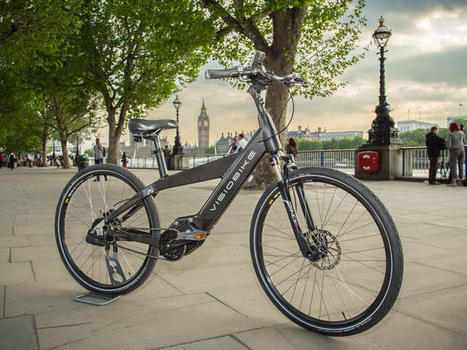 Visiobike e-bike makes your phone into a rear-view mirror - CNET   E-bike Assist : News and tips on e-Bikes products & maintenance   Scoop.it