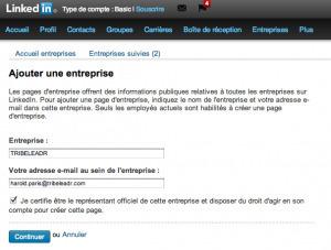 Comment créer une Page Entreprise sur LinkedIn - TRIBELEADR | Cours Web Social | Scoop.it