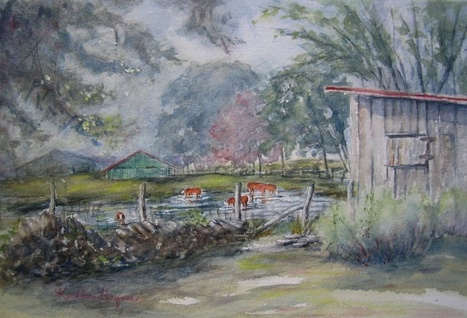 Chestnuts to Exhibit Tennessee Artwork at Green Hills Library in September – The Chestnut Group, Plein Air Painters for the Land | Tennessee Libraries | Scoop.it