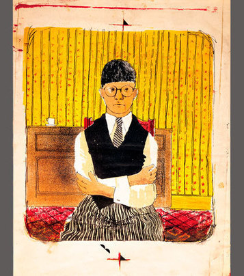 Hockney, Printmaker - Dulwich Picture Gallery | Inspiration | Scoop.it