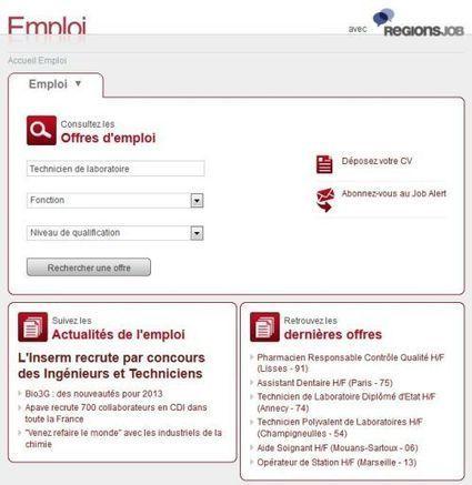 Emploi : trouvez un job dans la santé sur Futura-Sciences | BABinfo Emploi Pays Basque. | Scoop.it