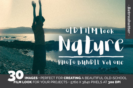 Free Graphics | Old Film-Look NZ Nature Images | Design Freebies & Deals | Scoop.it