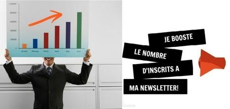 Mailing list: comment doubler votre nombre d'abonnés (au moins!) | Webmarketing et Réseaux sociaux | Scoop.it