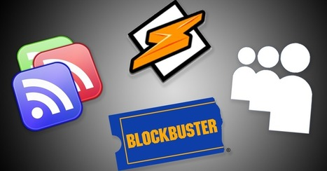 RIP Google Reader and Winamp: 10 Tech Products We Lost in 2013 | Miscellany | Scoop.it