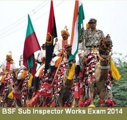 BSF Sub-Inspectors (SI Works) Recruitment 2014 Exam | cdsexam.com | UPSC CDS Exam | Scoop.it