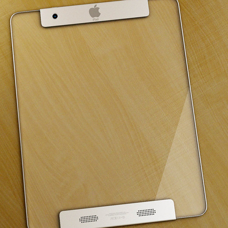 Transparent iPad Concept | Apple's Transparent iPad concept | iPad and iPhone Apps | Scoop.it
