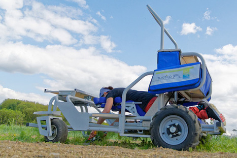Toutilo, le robot agricole qui pense au mal au dos lors de la cueillette - Wikiagri.fr | Chimie verte et agroécologie | Scoop.it