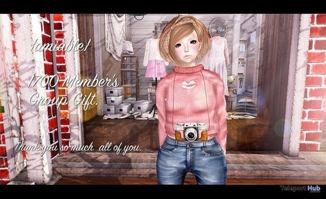 Sweater 1700 Members Group Gift by {amiable} | Teleport Hub - Second Life Freebies | Second Life Freebies | Scoop.it