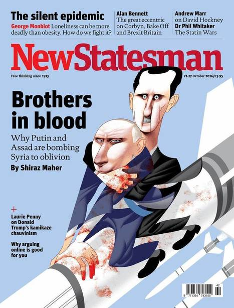 Evil Putin on the Cover of Britain's All Three Top Mags -- In the Same Week | Global politics | Scoop.it