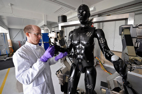 Robot soldier could help save human comrades' lives | My English Website - Glenn de Haas | Scoop.it