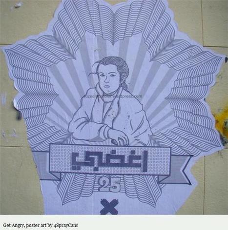Women in Graffiti: A Tribute to the Women of Egypt | Street art news | Scoop.it