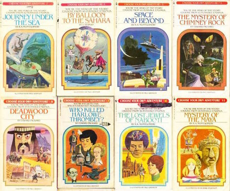 The 'choose your own adventure' books were the first interactive games | Litteris | Scoop.it