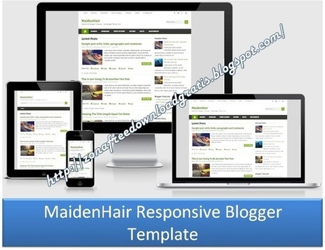 Download MaidenHair Responsive Blogger Template 2016 | Blogger themes | Scoop.it