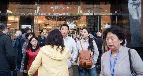 Les Galeries Lafayette paient la raréfaction des touristes étrangers   mobile, digital and retail   Scoop.it