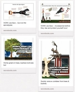 How Positec Uses Pinterest (And Zombies) To Sell Power Tools | Advertising & Media | Scoop.it