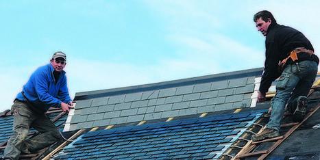 Ardoises solaires : première française pour les panneaux Thermoslate - Zepros | toit toi mon toit toi toi ma toiture | Scoop.it