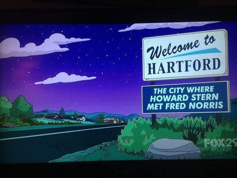 Hartford Gets A Mention On 'The Simpsons' - Hartford Courant | Howard Stern | Scoop.it