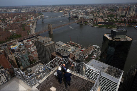 Up on the Roof: Top-Floor Attractions Help Maximize Revenues | Property Finance & Investment | Scoop.it