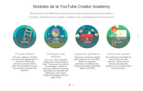 YouTubeCreatorAcademy– Améliorez votre maîtrise de YouTube en suivant des cours en ligne gratuit | Social media | Scoop.it