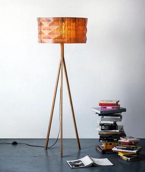 Folded Lamp Series by Ariel Zuckerman » Yanko Design   Céka décore   Scoop.it