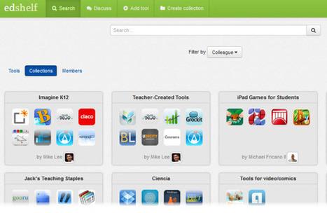Creando colecciones de recursos educativos con Edshelf | Recursos educativos interactivos para hacer en casa con nuestros hijos | Scoop.it