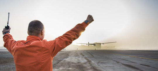 Solar Impulse Has Successfully Started Its Round-the-World Trip