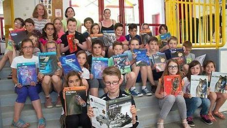 L'amicale laïque offre des livres aux élèves de CM2 | L'école Cousteau dans la presse et sur internet... | Scoop.it