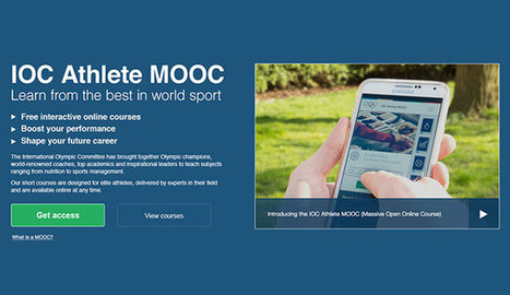 IOC launches a new online educational platform for athletes - Olympic | sports science | Scoop.it