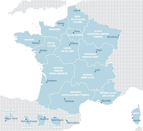 La France des nouvelles régions   CGET   Environnement actus   Scoop.it