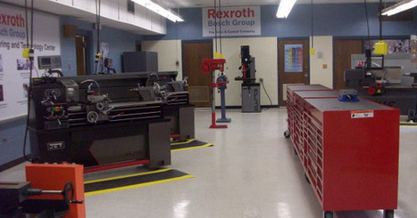 Bosch Rexroth Opens Tech Center at New High School - Fabricating and Metalworking | Manufacturing Jobs & Workforce Today | Scoop.it