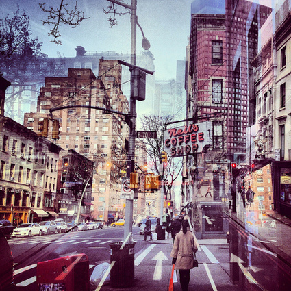 Photographer's Work Seamlessly Fuses NY, London Cityscapes   iPhoneography attempts and journalism   Scoop.it