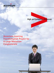 Large Malaysian Conglomerate - Learning Transformation - Accenture | Learning & development transformation | Scoop.it