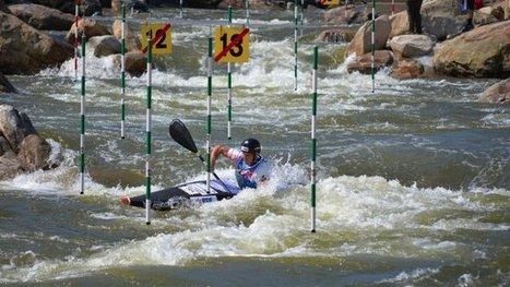 """Mathieu Biazizzo, champion de canoë-kayak (Golbey Epinal Saint-Nabord) obtient la bourse """"Challenge"""" de la Fondation FDJ – sport - France 3 Lorraine   Le canoë-kayak SLALOM avec PadL   Scoop.it"""