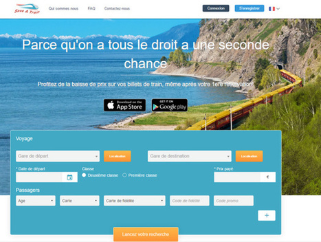 Billetterie train : Save a Train veut dompter le yield management ! | Marketing innovations | Scoop.it