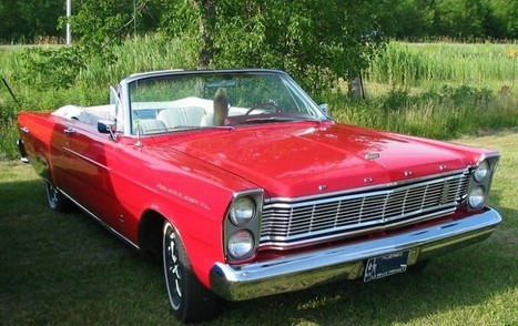 1966 Ford Galaxie 500 Overview - Ford Review   Reviews Cars   Scoop.it