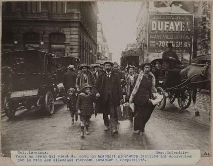 Paris 14-18, la Première Guerre mondiale au quotidien en photographies | Théo, Zoé, Léo et les autres... | Scoop.it