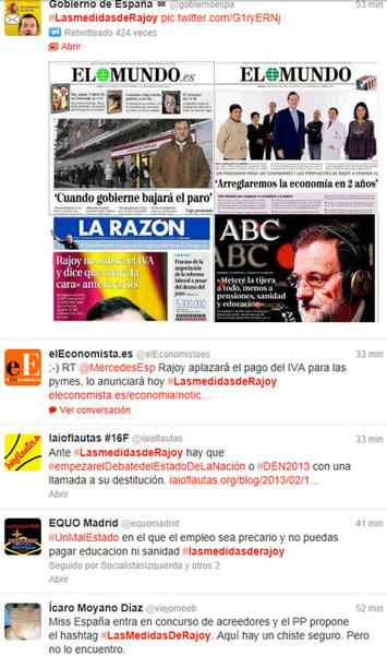 Al PP no le funcionan sus hashtags: los internautas de burlan de ...   Partido Popular, una visión crítica   Scoop.it