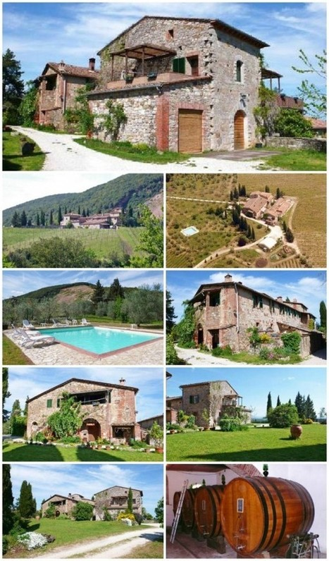 Tourism Businesses for sale in Tuscany : Colle ai Lecci, Castelnuovo Berardenga, Siena, Chianti Classico Area | Italia Mia | Scoop.it