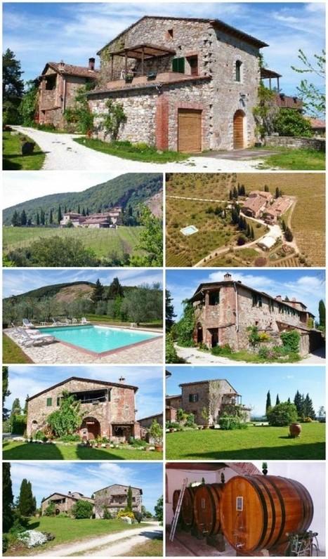 Tourism Businesses for sale in Tuscany : Colle ai Lecci, Castelnuovo Berardenga, Siena, Chianti Classico Area | Italia Mia | Scoop.it