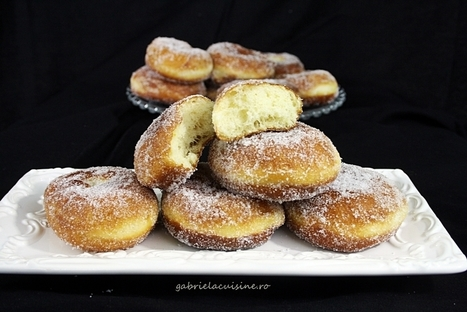 Gogosi/Donuts | gabriela cuisine - recipes | gabrielacuisine | Scoop.it