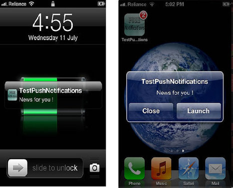 Using push notifications in AIR iOS apps | Adobe Developer Connection | Développement mobile avec Flex 4.6 | Scoop.it