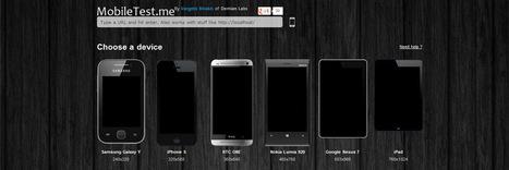 4 Favourite Online Responsive Design Testing Tools - williamsteve's piece of web soil | Responsive Website Design | Scoop.it