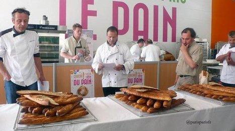 Pour fêter le pain, une boulangerie géante installée sur le parvis de Notre Dame | France 3 | Actu Boulangerie Patisserie Restauration Traiteur | Scoop.it