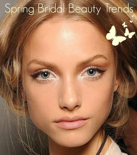 Spring Bridal Beauty Trends | Bridal Hair and Beauty | Scoop.it